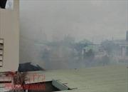 TP Hồ Chí Minh: Cháy dữ dội nhà dân trên đường Lê Văn Sỹ