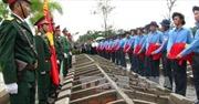 Truy điệu 106 hài cốt liệt sỹ, quân tình nguyện, chuyên gia hy sinh ở Campuchia