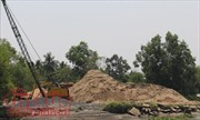 Giá cát xây dựng 'giảm nhiệt' sau khi tăng 'chóng mặt'