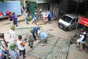 Cưỡng chế các công trình xây dựng trái phép tại cửa đền Bảo Hà, Lào Cai