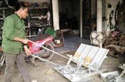 Sáng chế máy hỗ trợ nông dân việc đồng áng