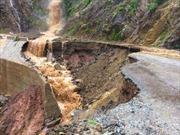 Nhiều xã ở huyện Nậm Pồ, Điện Biên bị cô lập do mưa lũ