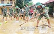 Bảo đảm vệ sinh môi trường sau lũ ở Mù Cang Chải