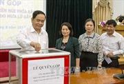 Ủy ban Trung ương MTTQ Việt Nam quyên góp, ủng hộ đồng bào vùng lũ