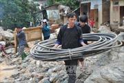 Hỗ trợ các tỉnh miền núi phía Bắc bị thiệt hại do mưa lũ