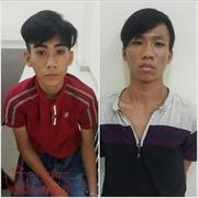 Tóm gọn hai tên trộm xe máy tuổi teen dùng xe ăn trộm để đi trộm