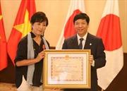 Trao Huân chương Hữu nghị cho người bạn của nạn nhân chất độc da cam Việt Nam