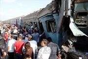 Ai Cập: Số người chết trong vụ hai tàu hỏa đâm nhau lên tới 43 người