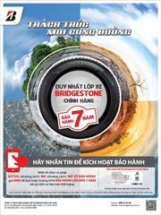Bridgestone Việt Nam khuyến cáo chủ xe lựa chọn lốp xe chính hãng