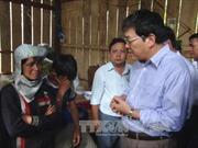 Thăm hỏi gia đình 7 nạn nhân thương vong do cưa đầu đạn ở Khánh Hòa