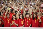 SEA Games 29: Sôi nổi không khí cổ vũ đội tuyển U22 Việt Nam trong trận gặp Indonesia