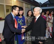 Tổng Bí thư Nguyễn Phú Trọng: Việt Nam coi trọng thúc đẩy quan hệ hợp tác với Indonesia