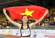 SEA Games 29: Điền kinh Việt Nam đang dẫn đầu Đông Nam Á