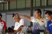SEA Games 29: Hoàng Xuân Vinh chỉ giành HCB 10m súng ngắn hơi