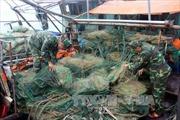 Quảng Ninh cấm sử dụng lồng bát quái đánh bắt thủy sản từ 1/1/2018