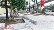 Chủ tịch UBND thành phố Nguyễn Đức Chung nói gì về việc lát đá vỉa hè Hà Nội?