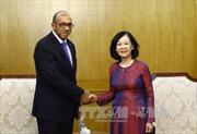 Trưởng Ban Dân vận Trung ương Trương Thị Mai tiếp Đại sứ Cuba
