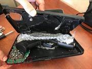 Phát hiện súng bắn đạn bi được ngụy trang kĩ lưỡng ở sân bay Tân Sơn Nhất