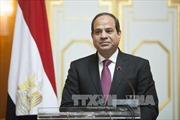 Tổng thống Ai Cập bắt đầu thăm cấp Nhà nước tới Việt Nam