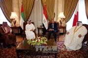 Các nước Arab phủ nhận những tiến bộ trong việc giải quyết căng thẳng với Qatar