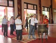 Lễ dâng hương, tưởng niệm 48 năm Ngày mất của Chủ tịch Hồ Chí Minh