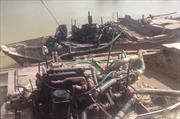 Điều tra vụ hút trộm cát và khai thác đất trái phép quy mô lớn trên sông Sài Gòn