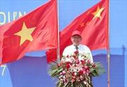 Phó Thủ tướng Trương Hòa Bình trả lời phỏng vấn nhân dịp thăm KTT dân tộc Choang Quảng Tây