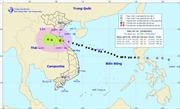 Bão số 10 chuyển hướng sang Lào, suy yếu thành áp thấp nhiệt đới