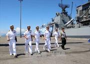Hai tàu Hải quân Hàn Quốc thăm thành phố Đà Nẵng