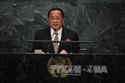 Ngoại trưởng Triều Tiên chỉ trích tuyên bố 'hủy diệt' của Tổng thống Mỹ