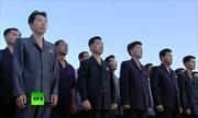 Cả trăm nghìn người Triều Tiên rầm rập biểu tình phản đối Tổng thống Trump