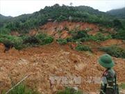 Sạt lở núi đe dọa tính mạng người dân vùng cao Quảng Ngãi