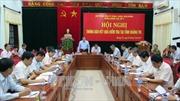 Đoàn công tác Ban Chỉ đạo Trung ương về phòng chống tham nhũng làm việc tại Quảng Trị