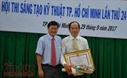Quy trình báo động đỏ giành giải nhất Hội thi Sáng tạo kỹ thuật TP Hồ Chí Minh