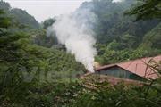 Yên Bái đình chỉ cơ sở sản xuất than sinh học gây ô nhiễm
