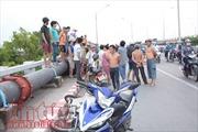 Bốn vụ tai nạn giao thông trên cầu vượt Bình Phước 1, một người tử vong