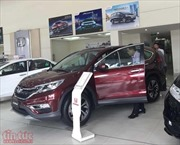 Sau giảm giá, Honda CR-V xếp thứ 2 trong Top 10 mẫu ô tô tiêu thụ mạnh nhất