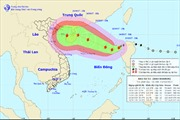 Bão số 11 tiến gần quần đảo Hoàng Sa, gió giật cấp 10