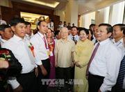 Tổng Bí thư Nguyễn Phú Trọng gặp mặt các đại biểu nông dân xuất sắc