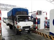 Trạm thu phí BOT Hà Nội - Bắc Giang bắt đầu thu phí không dừng
