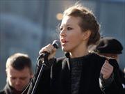 MC truyền hình nổi tiếng Nga sẽ tranh cử tổng thống năm 2018