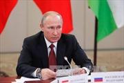 Tổng thống V.Putin khẳng định các lệnh trừng phạt Nga sẽ dần được dỡ bỏ