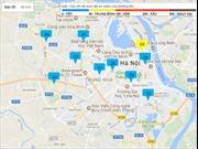 Sẽ lắp thêm 70 trạm đo chất lượng không khí ở Thủ đô