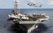 Mỹ triển khai ba tàu sân bay tại Tây Thái Bình Dương lần đầu trong 10 năm