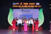 Manulife  Việt Nam - 'Doanh nghiệp xuất sắc về chỉ số hài lòng khách hàng 2017'