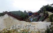 Bình Thuận chỉ đạo xử lý tình trạng thách thức chính quyền khai thác khoáng sản trái phép