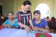 Ninh Thuận: Quan tâm dạy nghề, tạo việc làm cho người khuyết tật