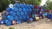 Phát hiện đường dây sản xuất dầu nhớt giả tại TP Hồ Chí Minh