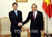 Phó Thủ tướng Trương Hòa Bình tiếp Thứ trưởng Bộ An ninh Quốc gia Trung Quốc