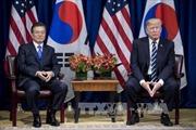 Hàn Quốc chào đón Tổng thống Trump tại căn cứ quân sự Mỹ